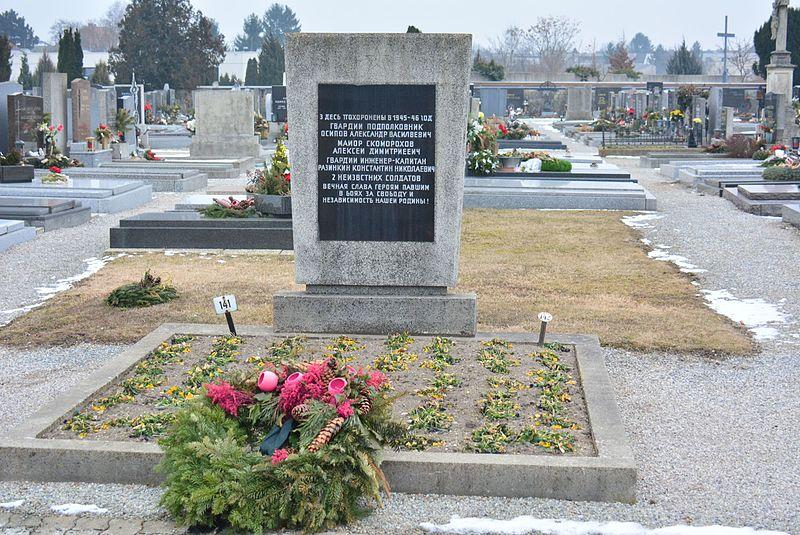 Russian Mass Grave Neufeld an der Leitha