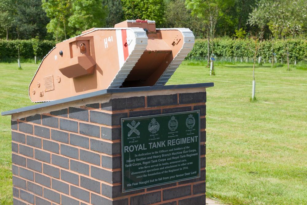 Monument Royal Tank Regiment