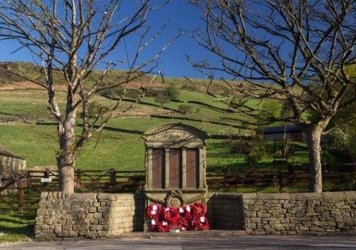 War Memorial Chinley, Bugsworth and Brownside
