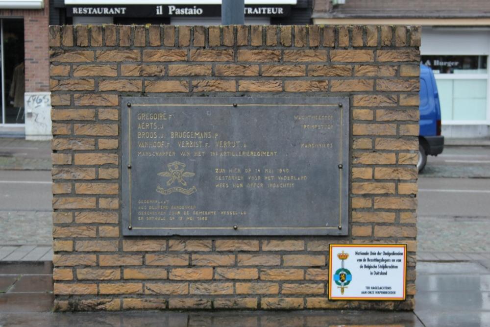 Monument 19de Artillerie Kessel-Lo