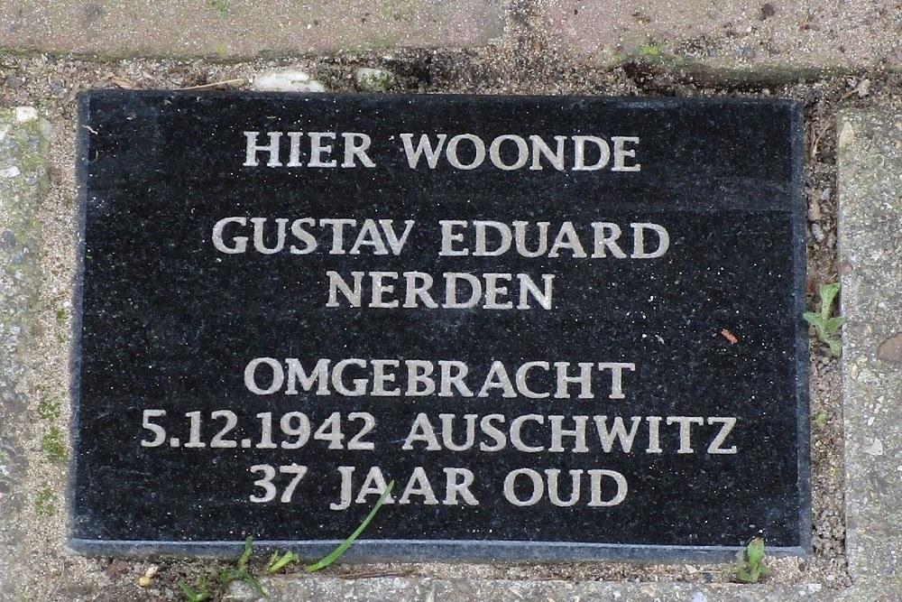 Herdenkingssteen Elsweg 57