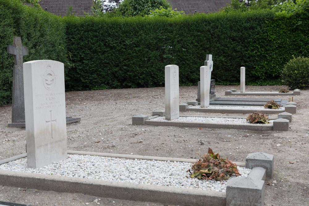 Commonwealth War Graves Odiliapeel