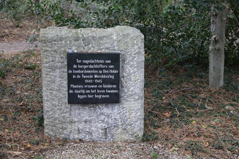 Monument Bombardementsslachtoffers Algemene Begraafplaats