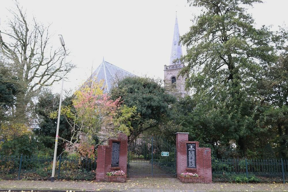 War Memorial Municipal Cemetery Spanbroek