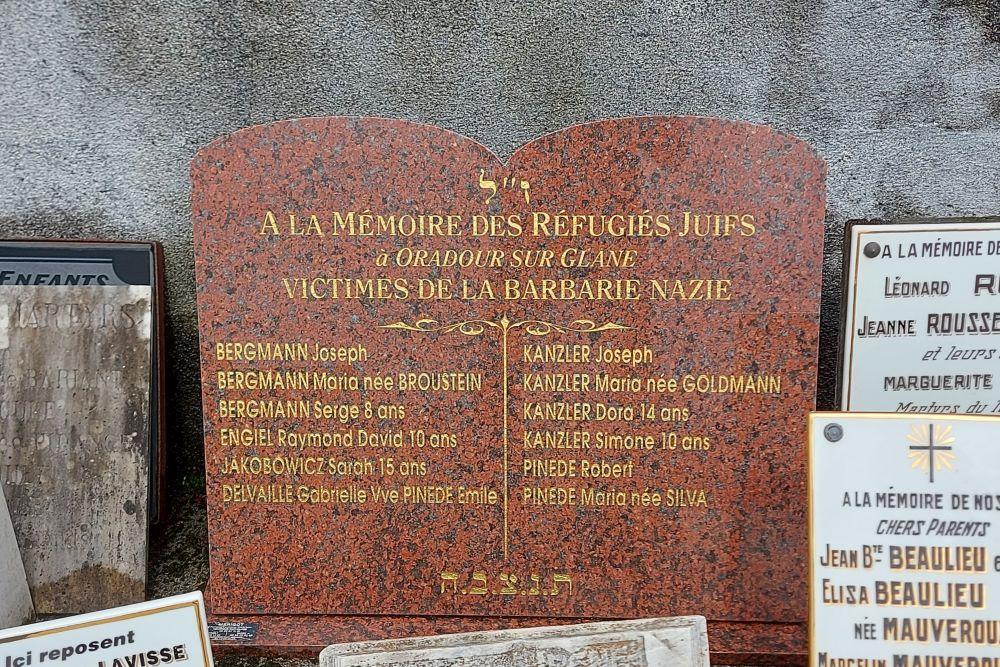 Monument Joodse Vluchtelingen Oradour-sur-Glane