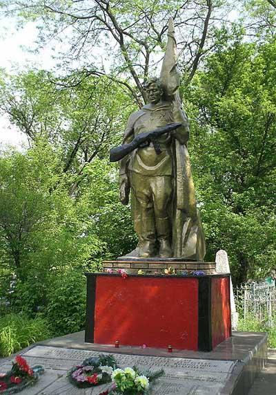 Soviet War Graves Kramatorsk