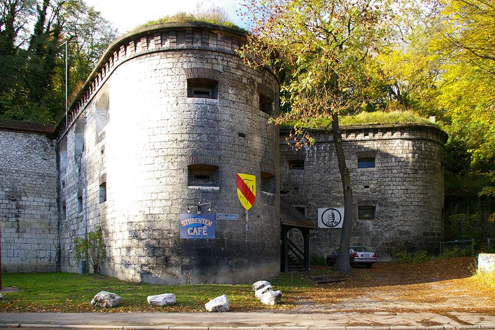 Bundesfestung Ulm - Unteren Gaisenbergbastion (Werk XXI)