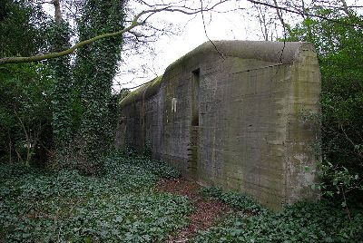 German R 622 Bunker Driehuis