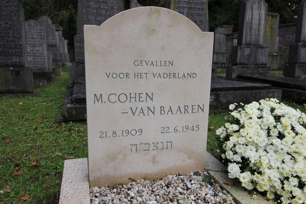 Joodse Oorlogsgraven Algemene Begraafplaats Maastricht