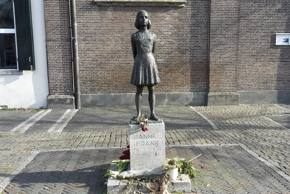 Beeld van Anne Frank