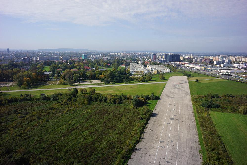 Voormalige Krakow-Rakowice-Czyzyny Vliegveld