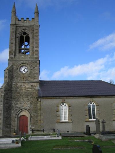 Oorlogsgraven van het Gemenebest Lisbellaw Church of Ireland Churchyard