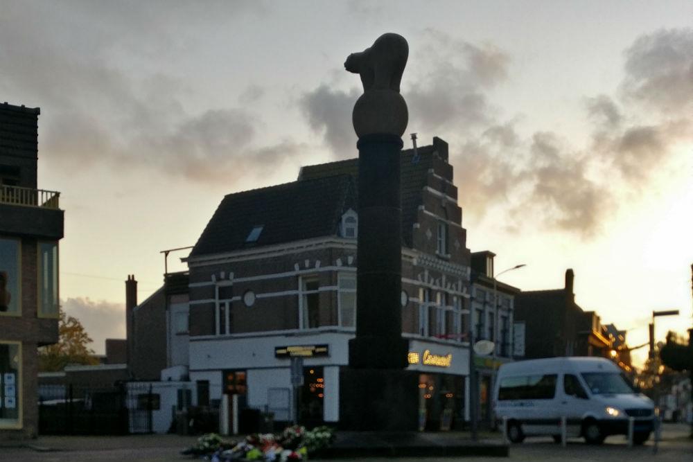 Polar Bear Monument Roosendaal