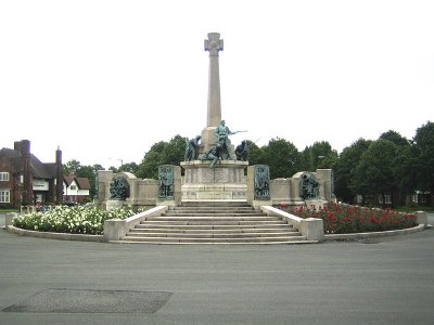 Oorlogsmonument Port Sunlight