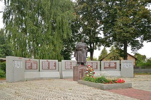 Mass Grave Soviet Soldiers & War Memorial Gostomel