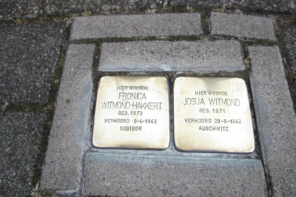 Remembrance Stones Cornelis Springerstraat 16-I