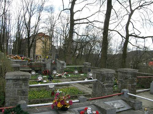 Mass Grave Soviet Soldiers Rabka Zdroj