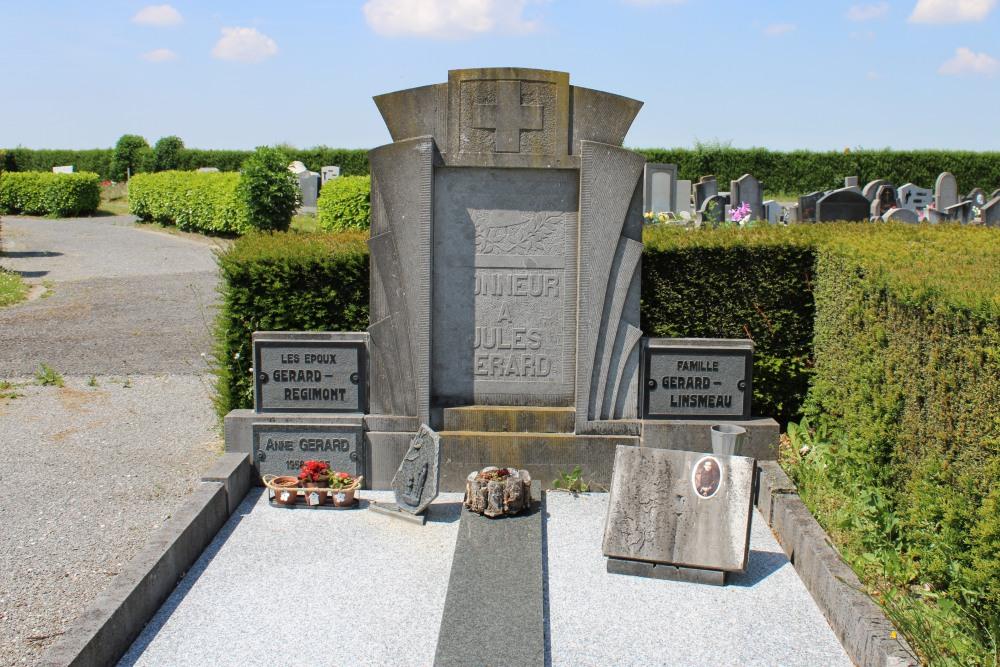 Belgisch Oorlogsgraf Marneffe