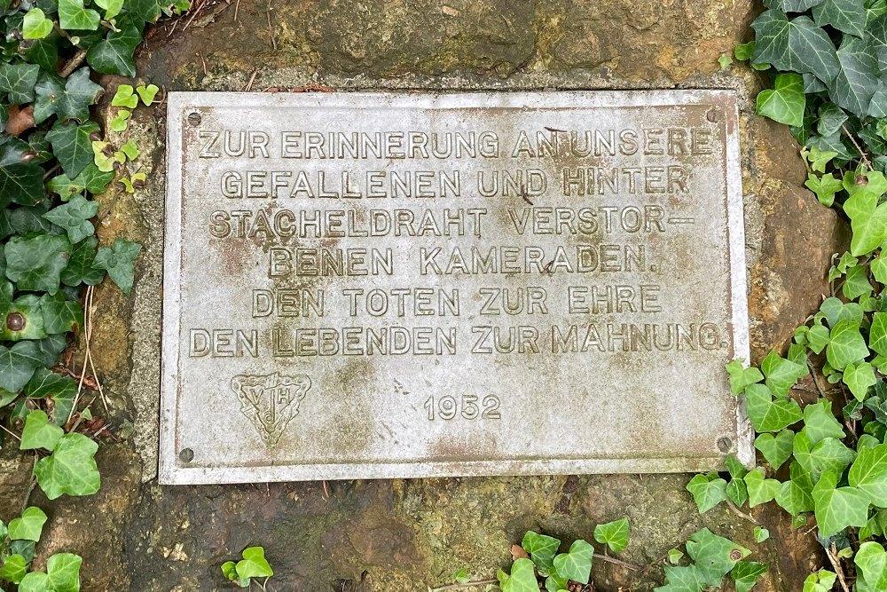 Monument Oorlogsslachtoffers Arnsberg