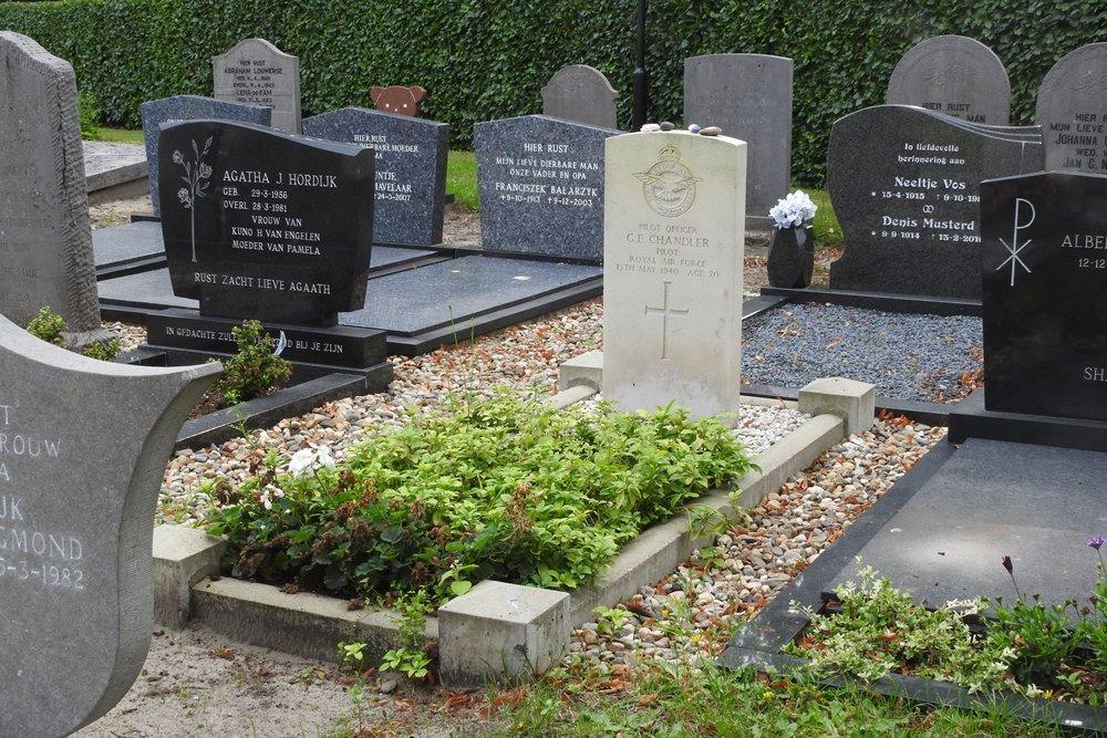 Oorlogsgraf van het Gemenebest Nederlands Hervormde Begraafplaats Made
