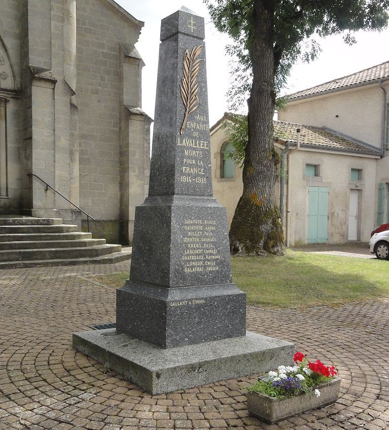 World War I Memorial Lavallée