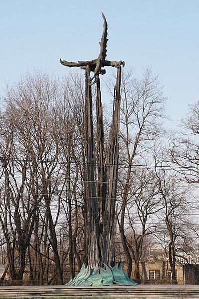 Monument Poolse Vliegeniers 1939-1945 Krakau