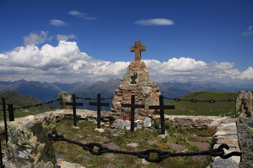 Austro-Hungarian war cemetery Hochgränten Joch