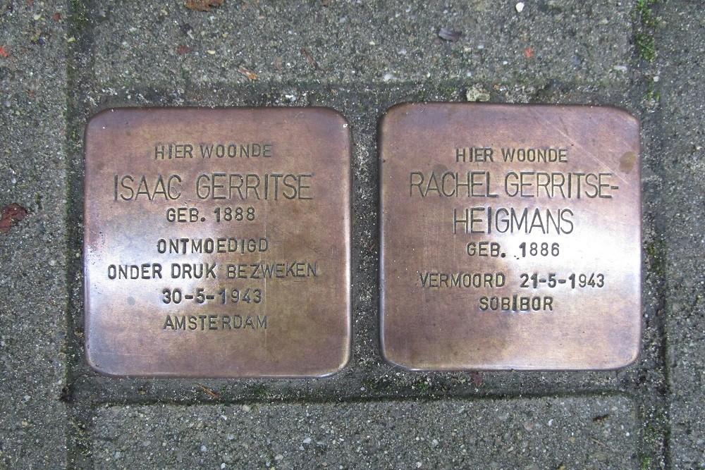 Remembrance Stones Lomanstraat 64