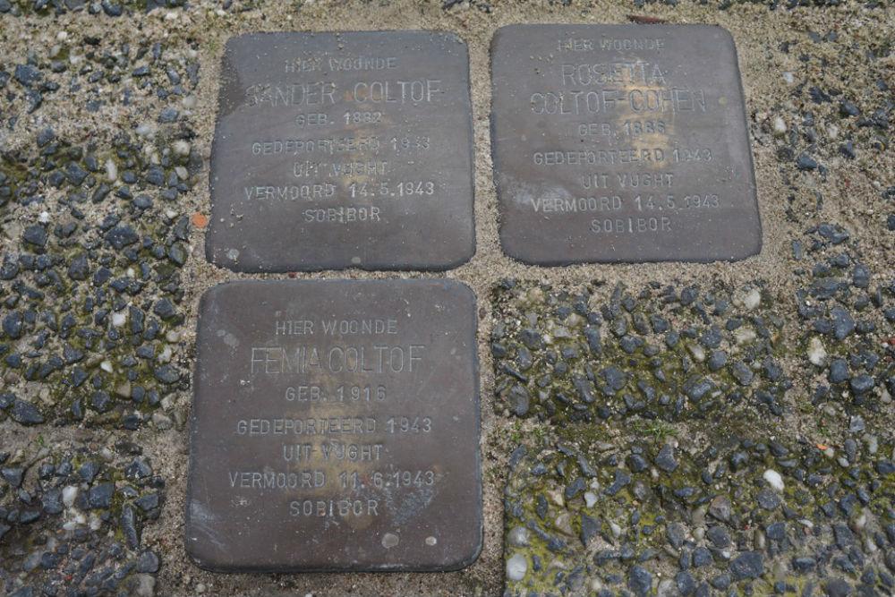Stolpersteine Kloosterstraat 3