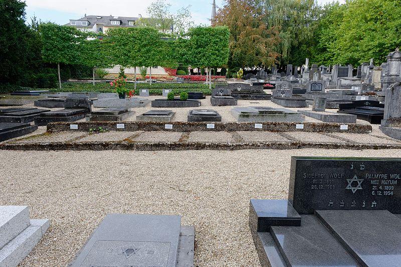 Symbolische Graven Holocaustslachtoffers