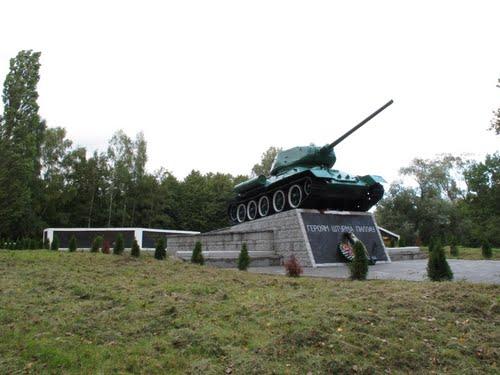 Monument Slag om Pillau (T-34/85 Tank)