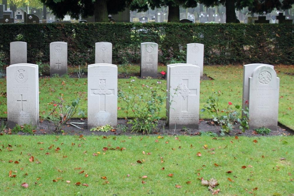 Dutch War Grave Central Cemetery Brugge