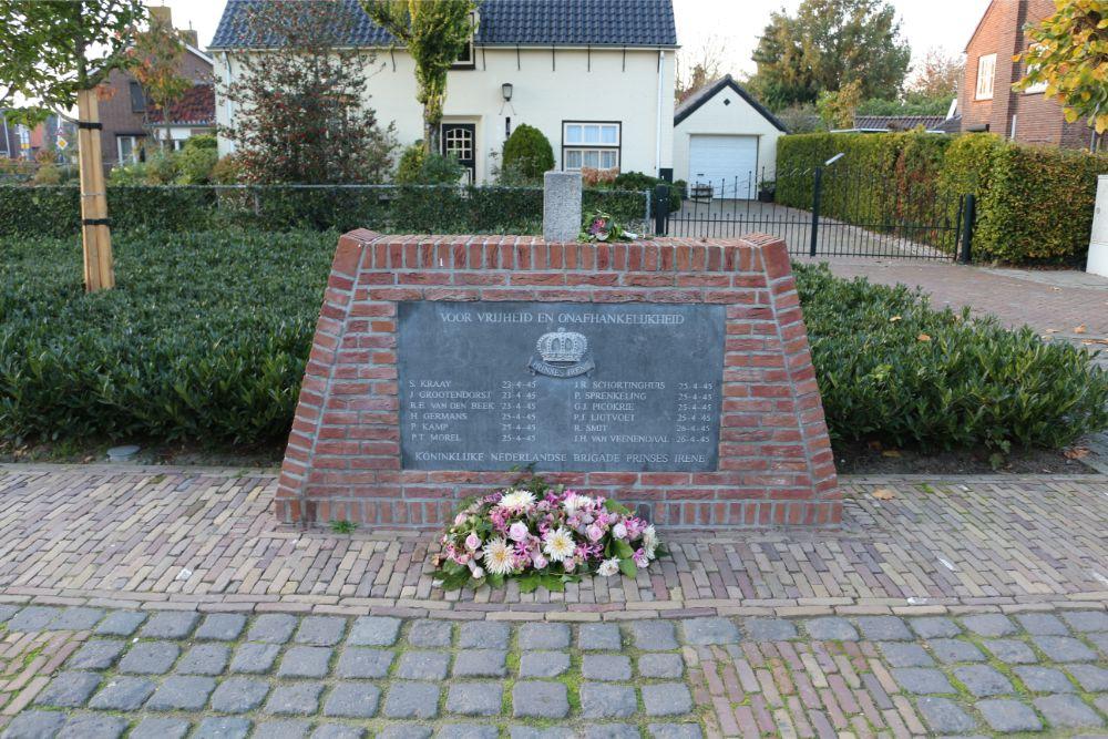 Monument Prinses Irene Brigade Hedel