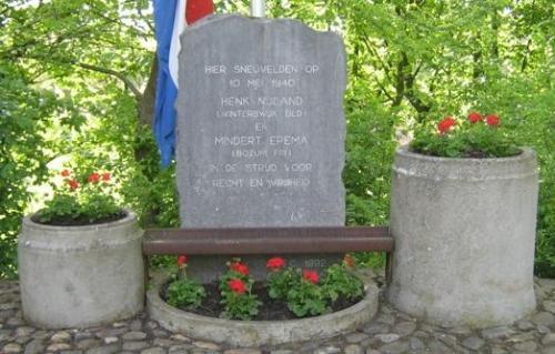 Monument Gesneuvelde Soldaten 10 Mei 1940