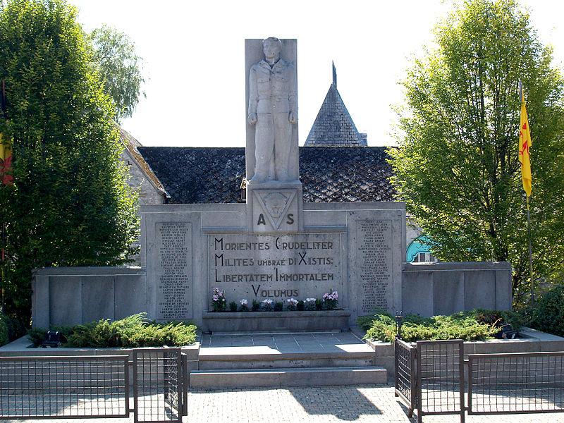 Monument Omgekomen Leden Geheim Leger