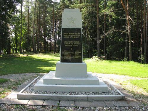 Mass Grave Soviet Soldiers Tõrva
