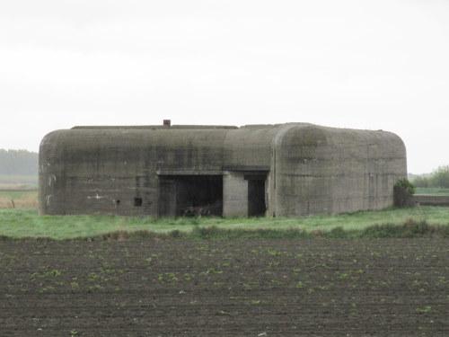 Stützpunkt Von Seeckt Werendijke Zoutelande Kazemat 1 Type 611