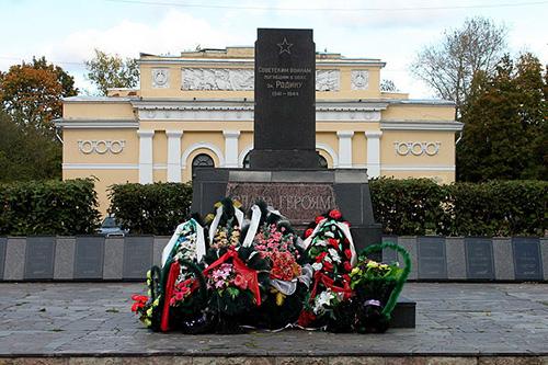 Massagraf Sovjet Soldaten Kingisepp