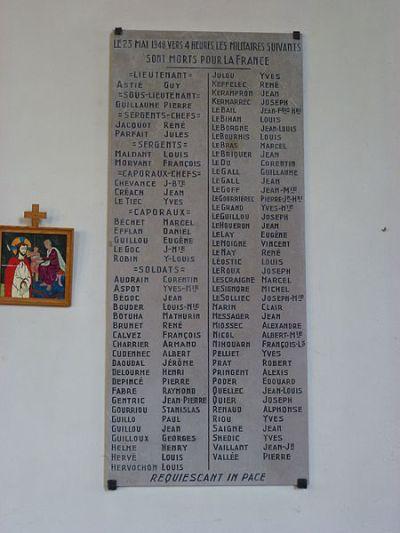 Monument Gesneuvelden 25 Mei 1940