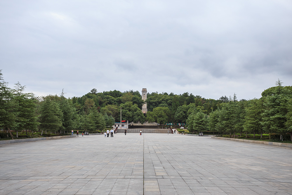 Shangrao Concentration Camp: Revolutionary Martyrs Cemetery