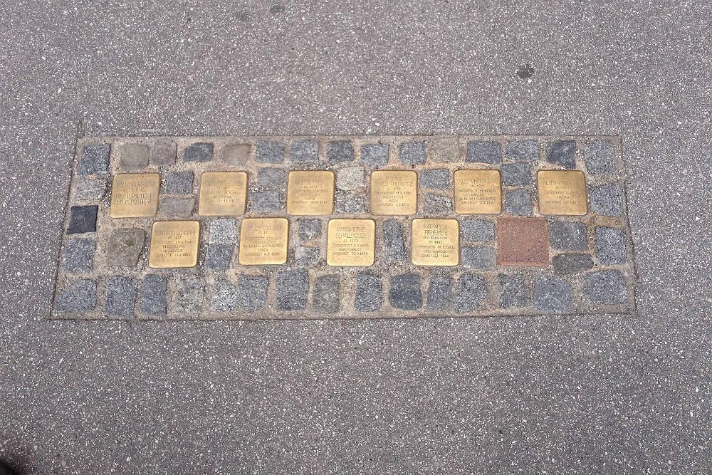 Stumbling Stones Rudolfsplatz 3