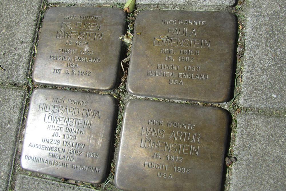 Stolpersteine Riehler Straße 23