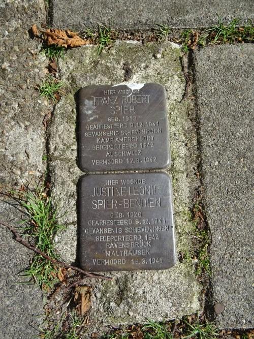 Stumbling Stones Burgemeester van Meursstraat 5