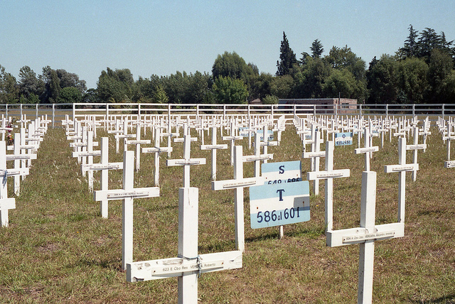 Replica Argentijnse Oorlogsbegraafplaats Darwin