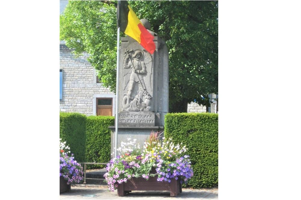 War Memorial Ave-et-Auffe