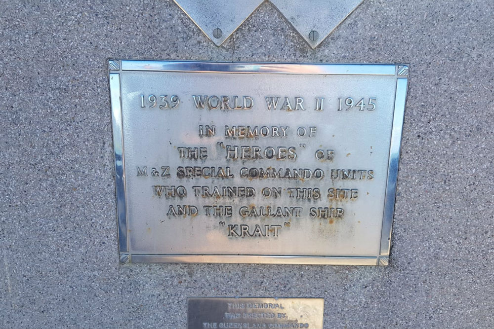 Memorial Commandos Cairns