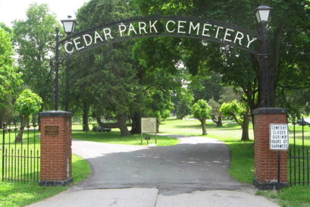 Commonwealth War Grave Cedar Park Cemetery