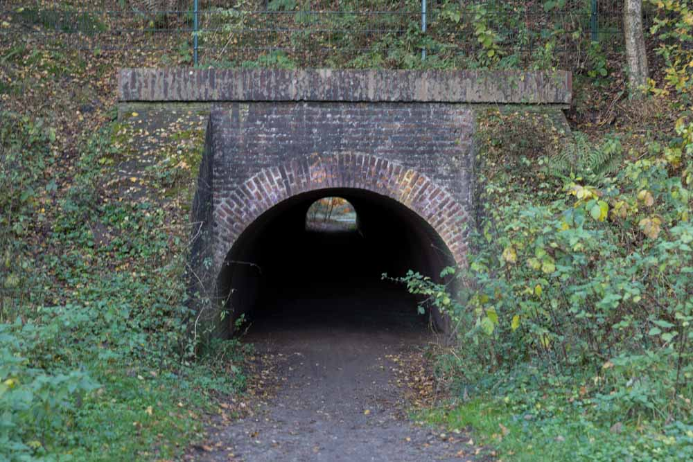 Jeeptunnel under the railway