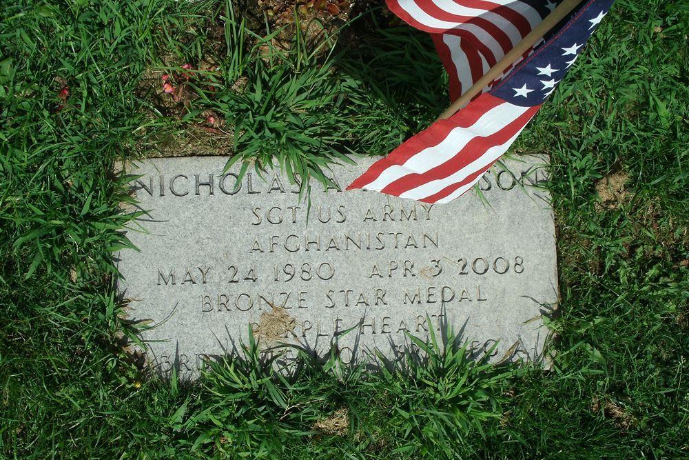 Amerikaans Oorlogsgraf Woodlawn Cemetery