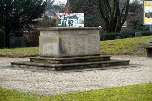Memorial Jewish Cemetery Moers
